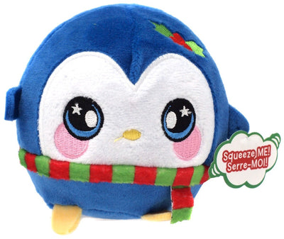 Squeezamals Holiday Series Marry Penguin 3.5-Inch Plush