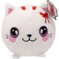 Squeezamals Holiday Series Pearl Cat 3.5-Inch Plush