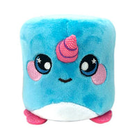 "Squeezamals Marshmallow 3.5"" - Gerry Narwhal"