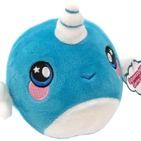 Squeezamals Series 2 Nadia Narwhal 3.5-Inch Plush