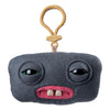 Fuggler Funny Ugly Monster, Collectible Plush Clip-On, Squidge - Grey