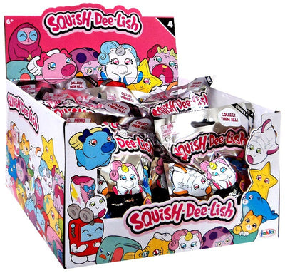Squish-Dee-Lish Series 4 Mystery Box (12 Packs)