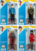 "Star Trek Kirk, Spock, Uhura & Romulan Commander Set of 4 - 8"" Action Figures"