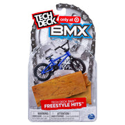 Tech Deck BMX Freestyle Hits Finger Bike - Cult - Blue/Black
