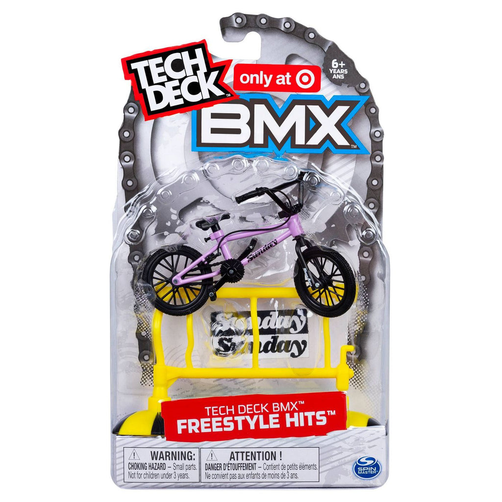 Tech Deck BMX Freestyle Hits Finger Bike - Sunday - Purple/Black