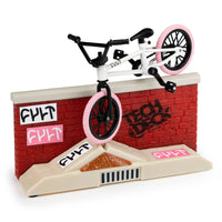 Tech Deck BMX Freestyle Hits Finger Bike - Cult - White/Pink
