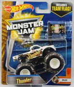 Hot Wheels Monster Jam Thunder 4x4 Die-Cast #3/7 (Mud)