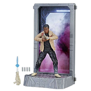 Star Wars The Force Awakens 40th Anniversary Black Titanium Series Finn Die Cast Action Figure