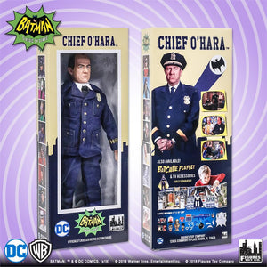 "Batman Classic TV Series - Chief O'Hara 8"" Action Figure"