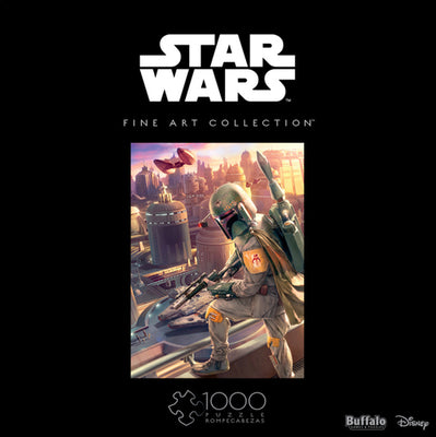 Buffalo Games Star Wars Fine Art Collection Boba Fett 1000 Piece Jigsaw Puzzle