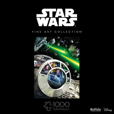 Buffalo Games Star Wars Fine Art Collection Never Tell Me The Odds 1000 Piece Jigsaw Puzzle