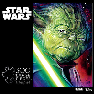 Buffalo Games Star Wars Yoda 300 Large Piece Jigsaw Puzzle