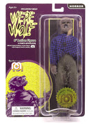"Horror Wave 6 - The Face Of The Screaming Werewolf 8"" Action Figure (Full Body Flock and New Outfit)"