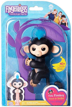 Fingerlings Baby Monkey Finn Figure - Zolo's Room