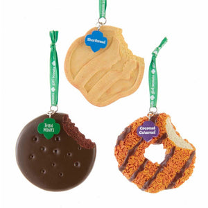 Girl Scout Cookie Ornaments - Set of 3 by Kurt Adler