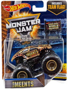 Hot Wheels Monster Jam Team Meents Die-Cast Truck #2/6 Flashback