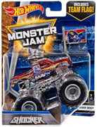 Hot Wheels Monster Jam Shocker Die-Cast Truck #2/4 (X-Ray Body)