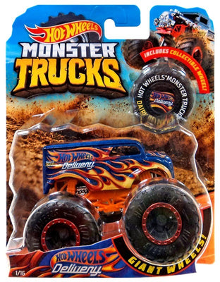 Hot Wheels Monster Trucks Hot Wheels Delivery  Die-Cast Truck