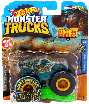 Hot Wheels Monster Trucks Hissy Fit  Die-Cast Truck #2/5 (Animal Attack)