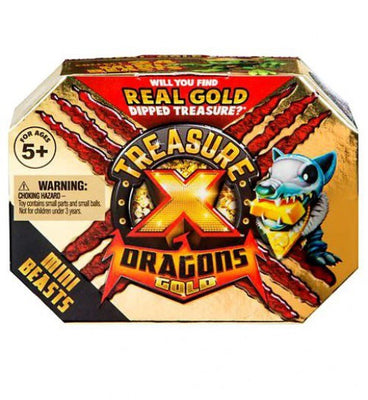 Treasure X Series 2 Dragons Mini Beasts Mystery Pack