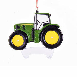 John Deere Tractor Personalization Ornament by Kurt Adler
