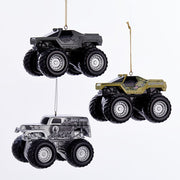 Monster Jam Ornaments - Set of 3 by Kurt Adler
