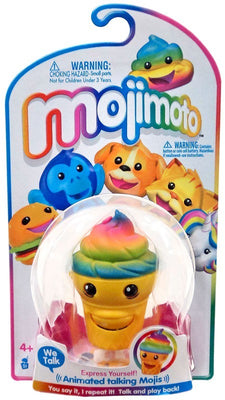 Mojimoto Animated Talking Mojis Rainbow Ice Cream Cone - Zolo's Room