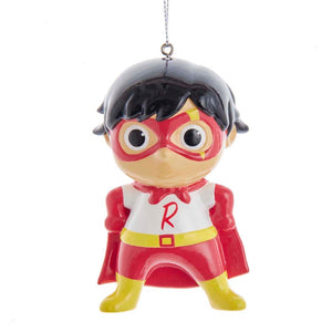 Ryan's World Super Hero Ornament by Kurt Adler