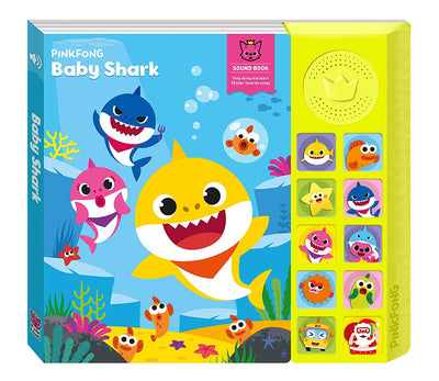Pinkfong Official Baby Shark Sound Book