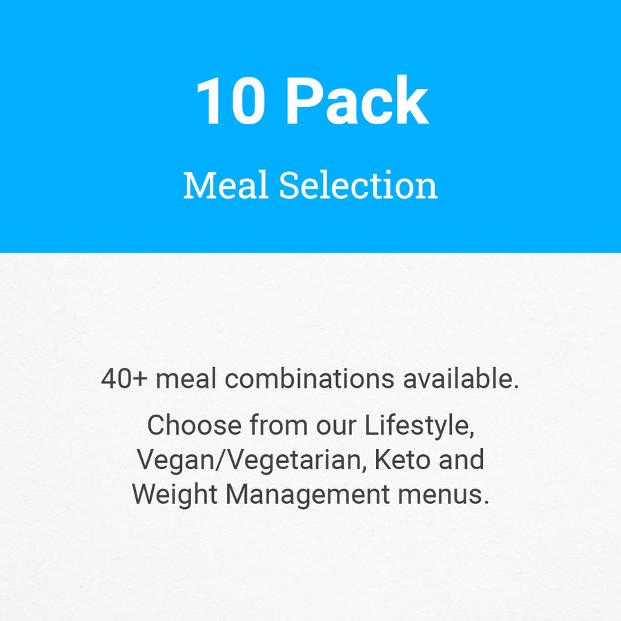 10 Pack Meal Selection