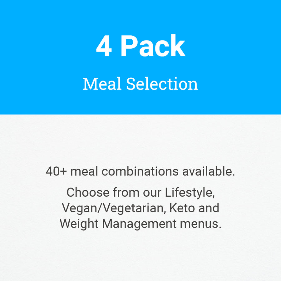 4 Pack Meal Selection