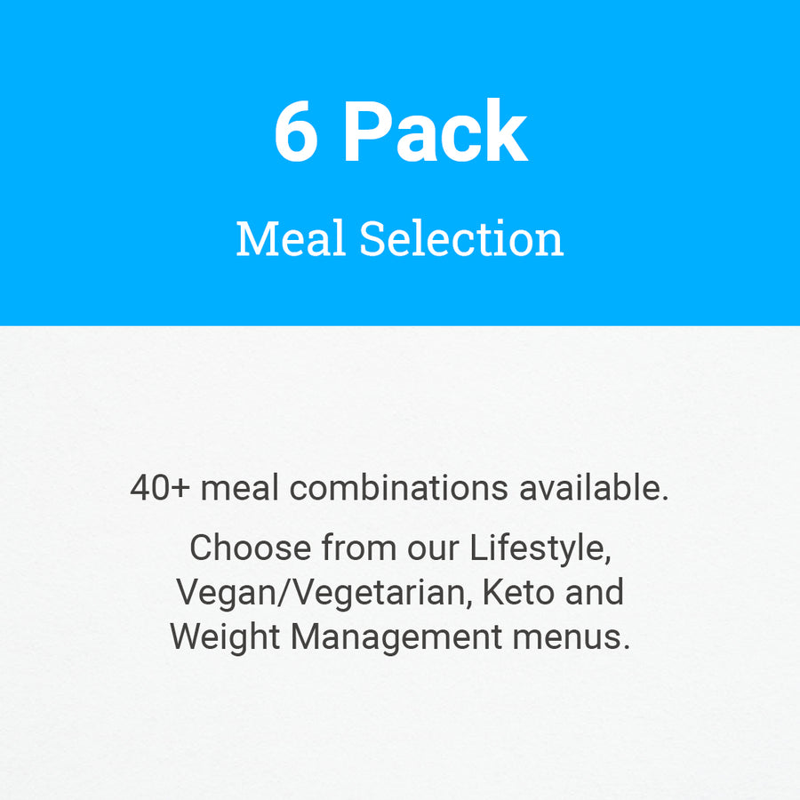 6 Pack Meal Selection