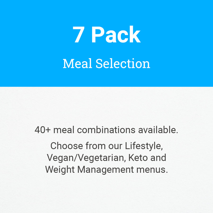 7 Pack Meal Selection