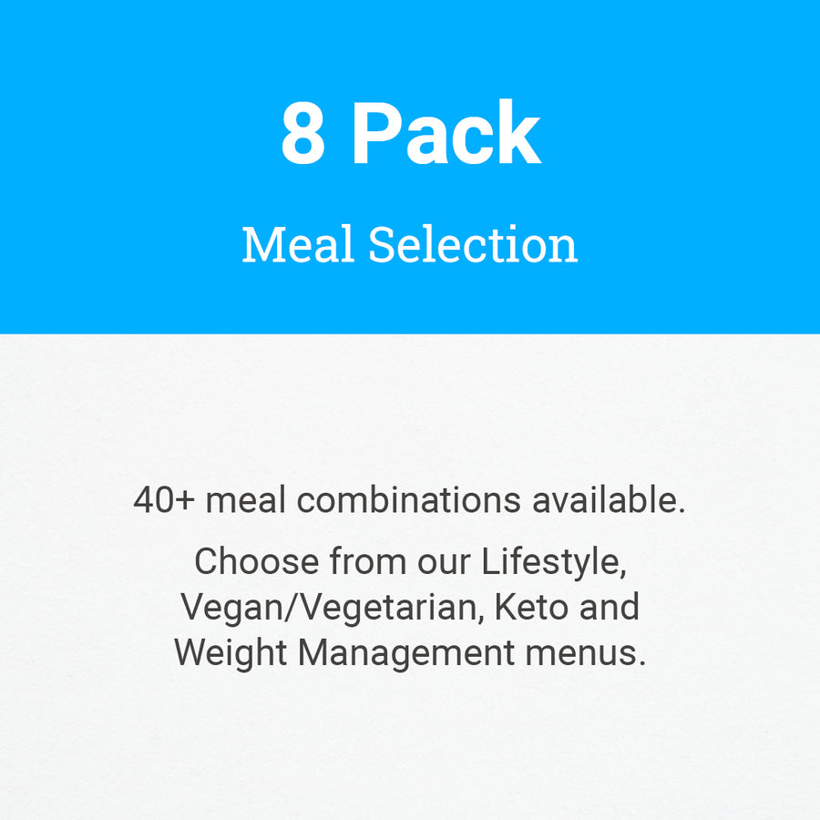 8 Pack Meal Selection