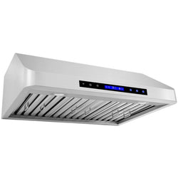"XtremeAir Pro-X PX10 | Under Cabinet Range Hood | 30"", 36"", 42"", 48"""