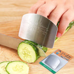 Stainless Steel Finger Slice Protecter || Kitchen Cutting Safety - Range Hood Homeland - Cooking Tool - Range Hood Homeland