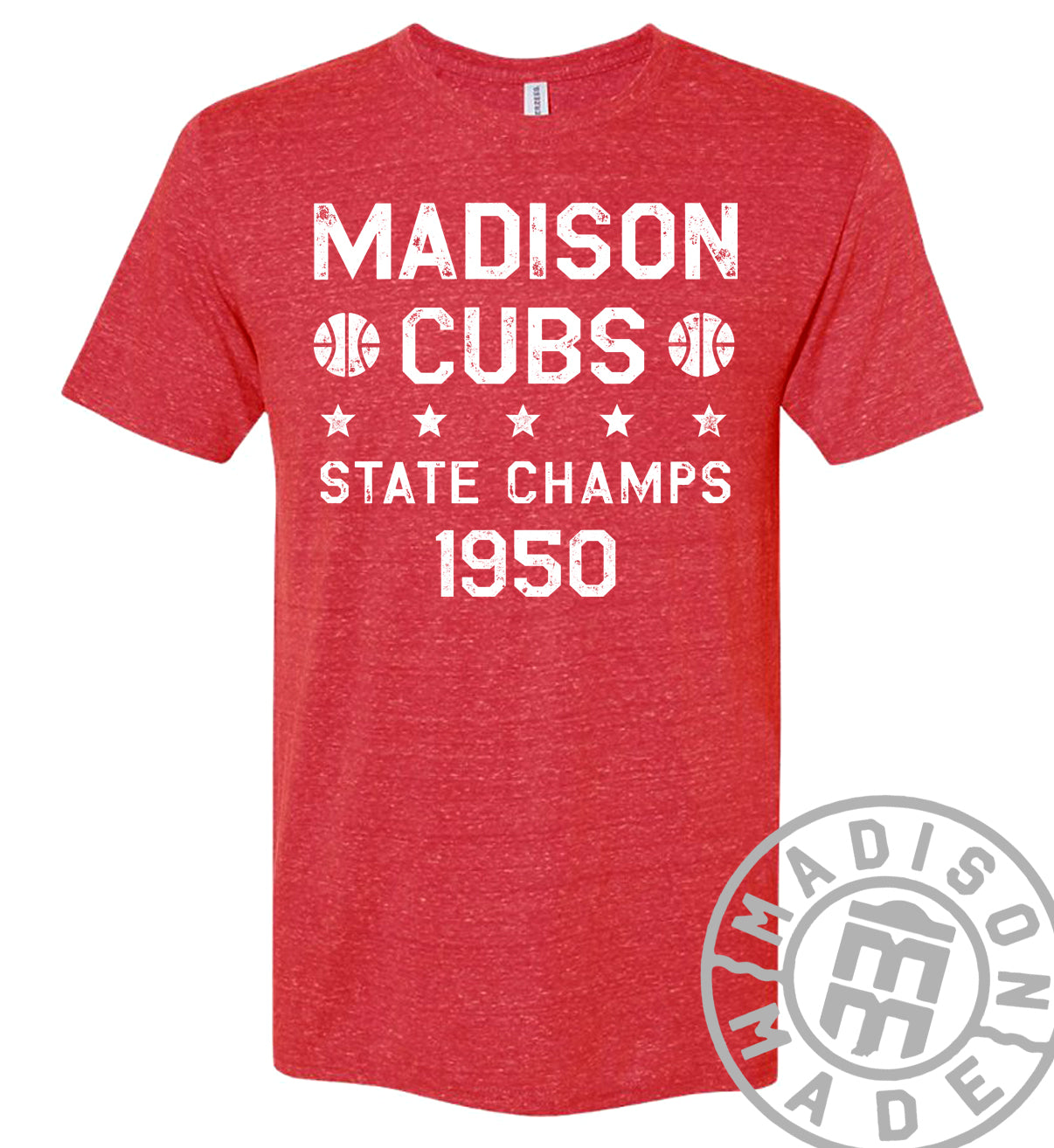 Madison Cubs State Champs Tee