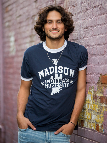Madison Music City Tee (Ringer)