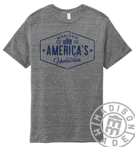 America's Hometown Tee (Gray)