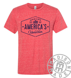 America's Hometown Tee (Red)