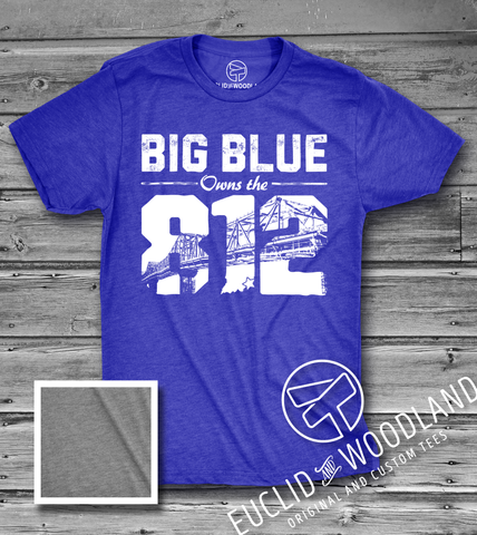 "Big Blue Owns the ""812"" Tee"