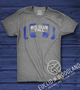 Big Blue Y'all Tee