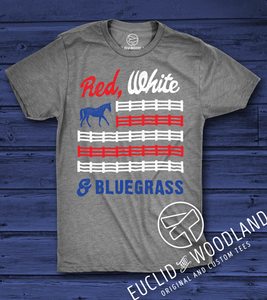 Red, White & Bluegrass Tee