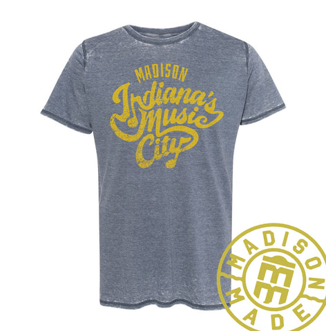 Indiana's Music City Burnout Tee
