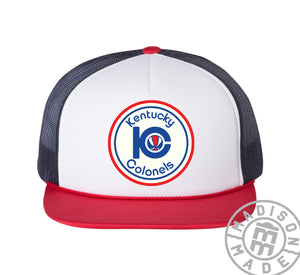 Kentucky Colonels 3 Tone Trucker Hat