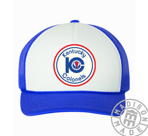 Kentucky Colonels Blue Trucker Hat