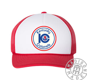 Kentucky Colonels Red Trucker Hat