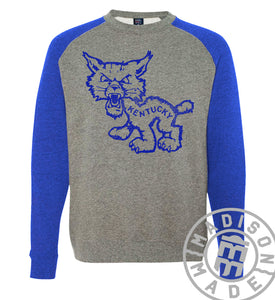 Kentucky Wildcat Raglan Sweatshirt