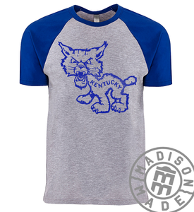 Kentucky Wildcat Raglan Tee