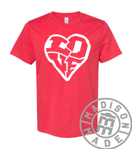 LOVE Indiana Red Tee